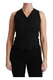 Sleeveless V-neck Slim Vest