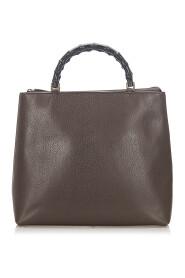 Bamboo Handbag Leather Calf