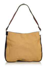 Web Canvas Shoulder Bag