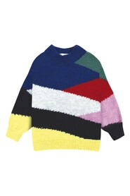 Color Block Knitted Jumper
