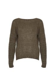 Kala Knit Sweater - Sandfarget Genser
