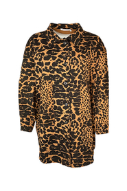 LILLIE GIANT LEOPARD OS JACKET