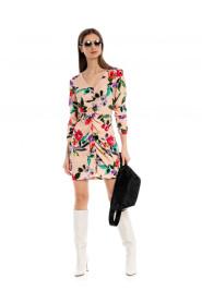 Sukienka Roxy mini print kwiatowy