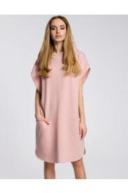 Sukienka z kapturem i kieszeniami