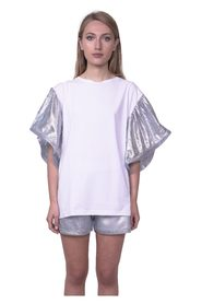 Puff sleeves T-shirt