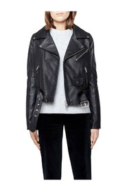 Cicci Cow Leather Jacket