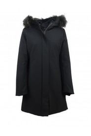 LONG DOWN JACKET WITH FUR AKEMI PM888