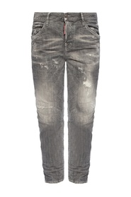 Cool rauw randje Girl Jean' jeans