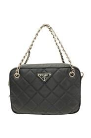 Handbag with strap in Nylon