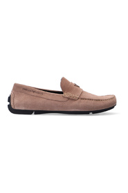 moccasins with logo