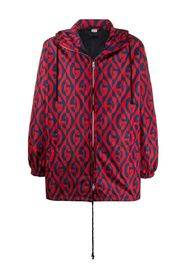 Rhombus Hooded Jacket