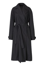 Double-breasted Technical Trench Coat