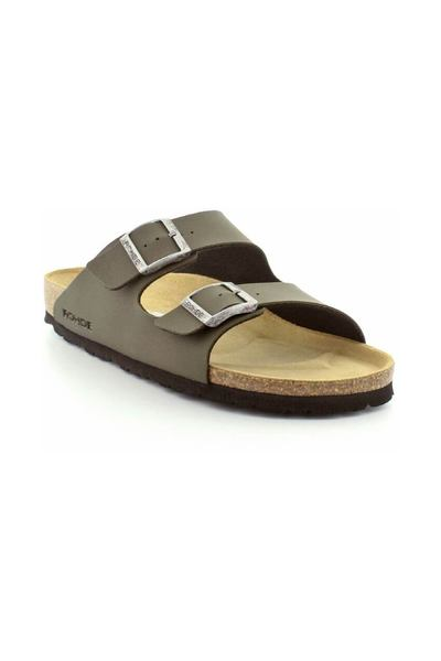 Army green Slippers 5920-61 | Rohde | Sandaler