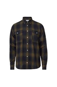 Bryson Wool Check Overshirt