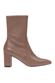 women's leather heel ankle boots booties landry 75