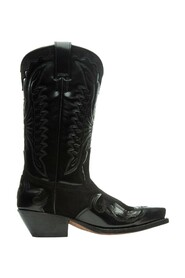 Daria Calf Leather & Suede Boots