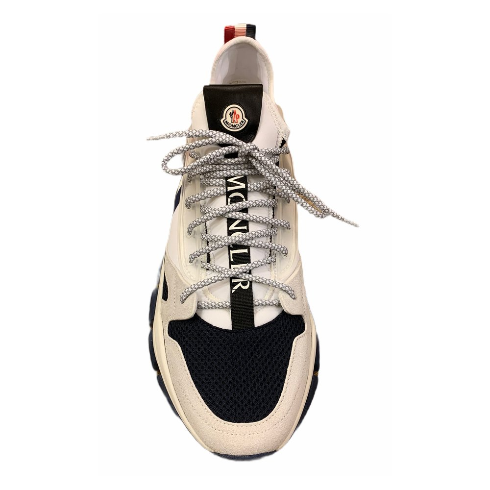 White Trevor sneakers | Moncler | Sneakers | Men's shoes