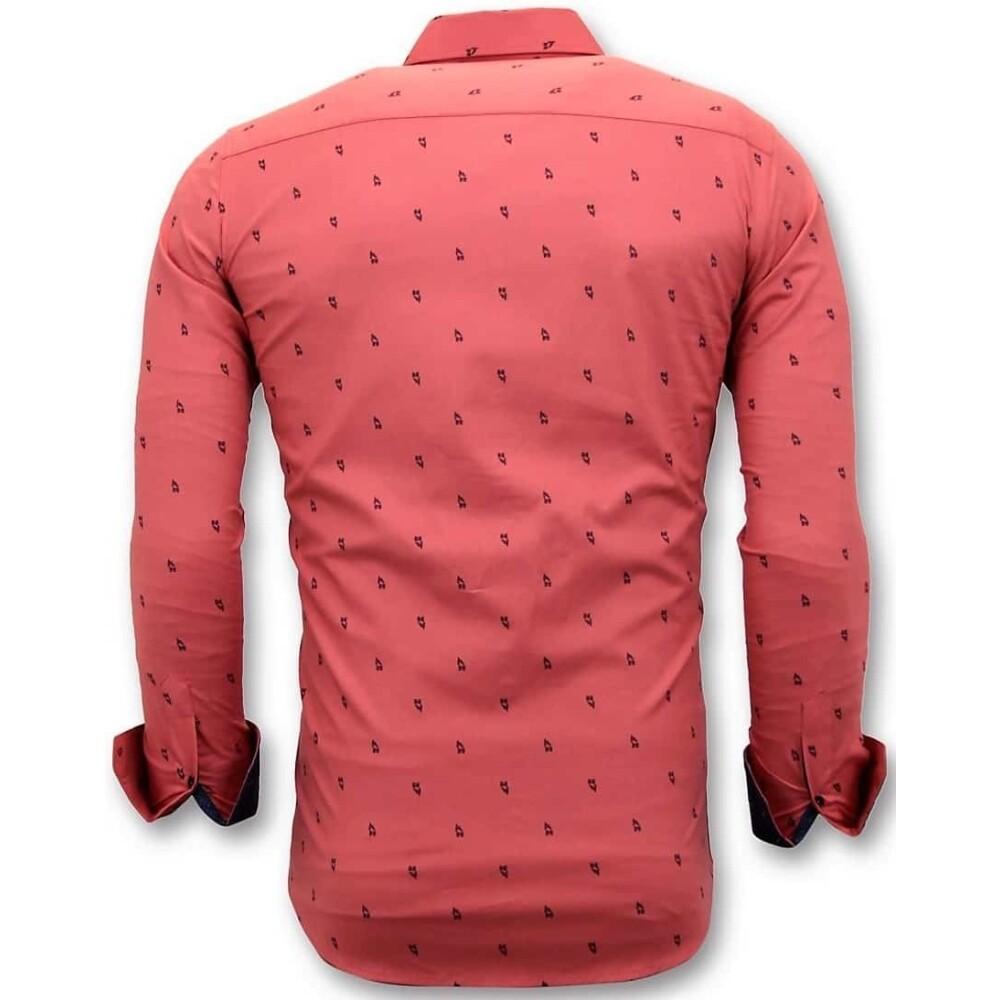 Red Shirt   Tony Backer   Zakelijke Overhemden   Herenkleding