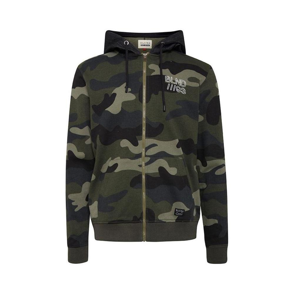 Fin Swearshirt i camouflage farver