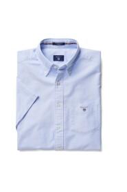 Blå Gant Oxford Ss Regulær Regular Skjorte