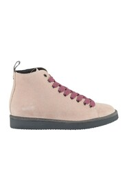 Sneakers P01 - Stivaletto in suede