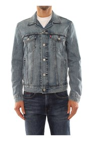 LEVIS 72334 THE TRUCKER JACKET JACKET AND JACKETS Men DENIM LIGHT BLUE