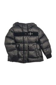 PADDED JACKET WITH VELVET HOOK