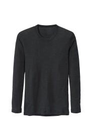 Shirt Long-Sleeve Ull-Silke
