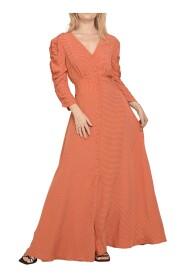 Maxi Dress In Polka Dot