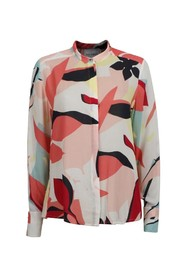 Frida Blouse - Collage Flowers