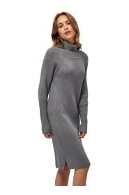 Ava knit turtleneck dress