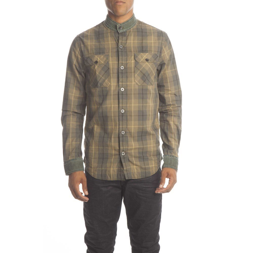 Coated Check Shirt