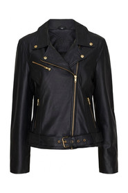 Leather jacket 11030 Black