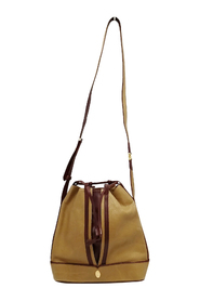Pre-owned Leather Bucket Bag