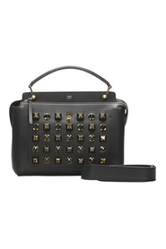 Pre-owned DotCom Studded Leather Satchel