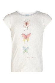 Mini A Ture - T-shirt, Alesa - Antique White