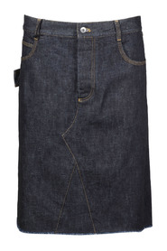 DENIM STRAIGHT SKIRT