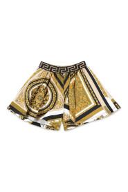 barokke svette shorts med trykk