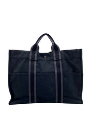 Pre-owned Cotton Fourre Tote Bag