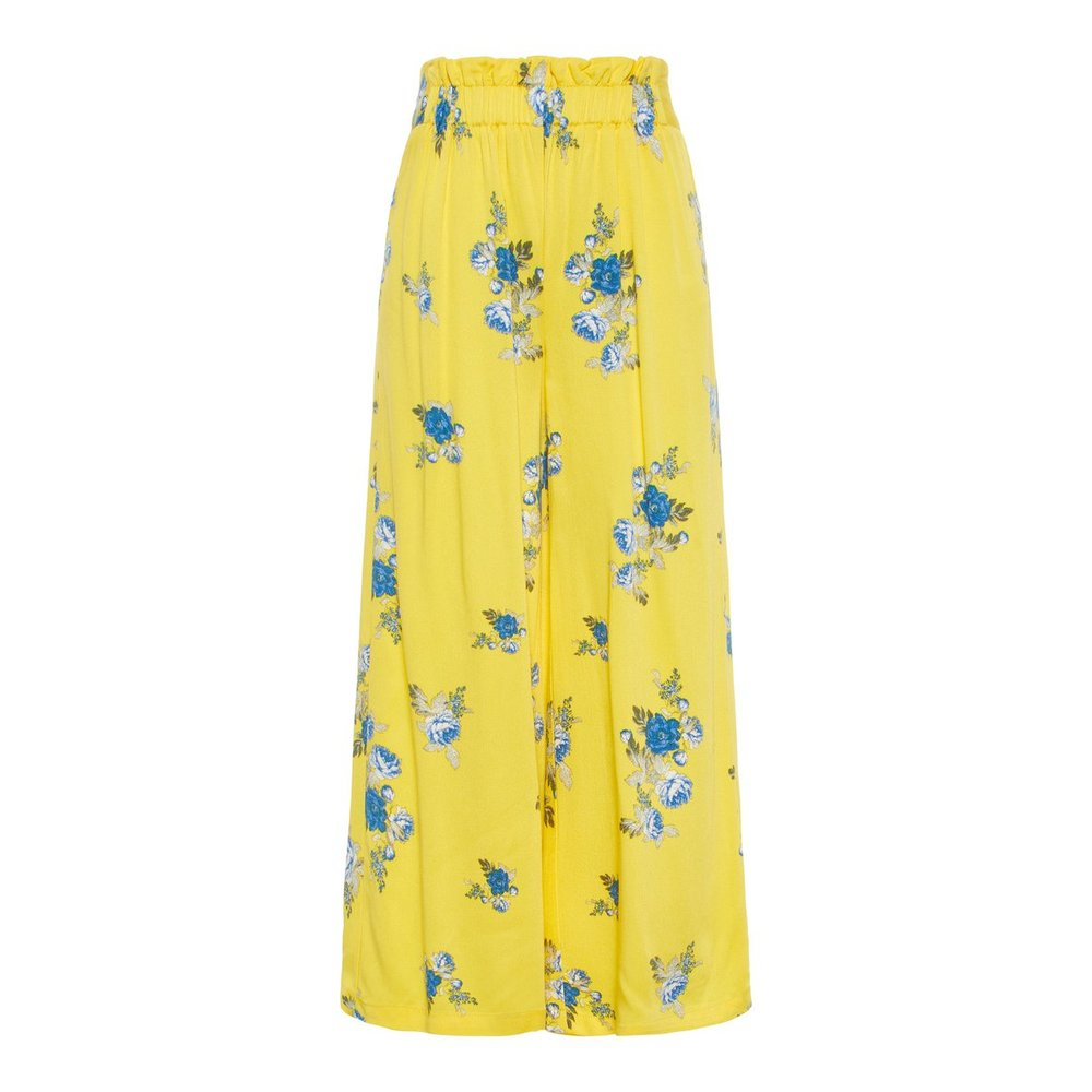 Wide-leg trousers floral printed