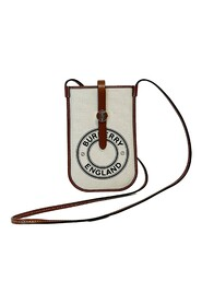 Logo Graphic Canvas Anne Phone Case with Strap