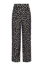 Star motif trousers