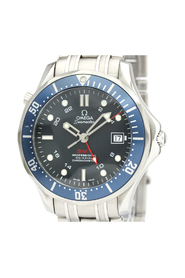 Pre-owned Seamaster GMT Co-Axial Automatic Watch 2535.80
