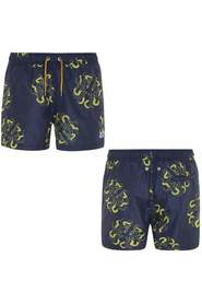 HAZEL GRAPHIC SWIM SHORTS