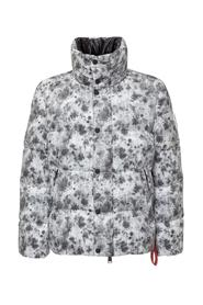Down Jacket with Print