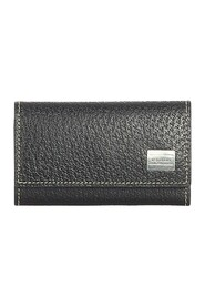 Pre-owned Key Holder Leather Calf