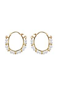 Gull Calaya Earrings Smykker