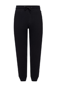 Sweatpants with tapered legs
