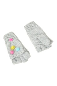 Pom Capped Mittens