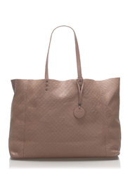 Intrecciato Butterfly Leather Tote Bag